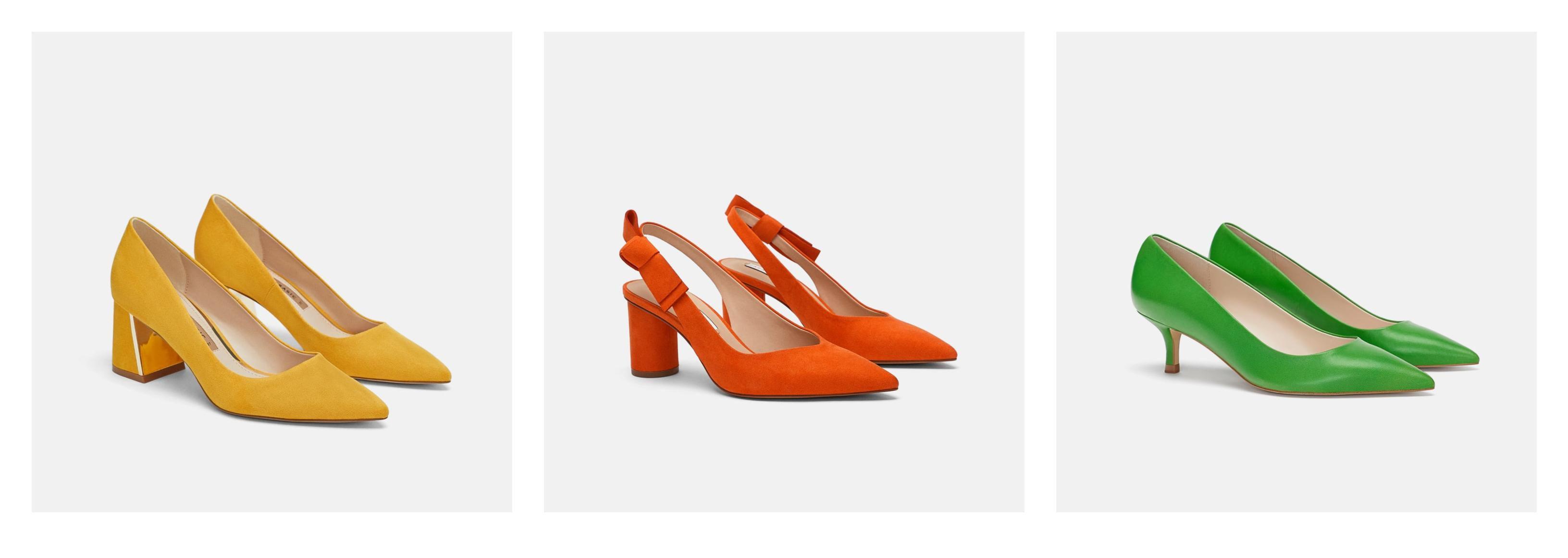 Jesen će biti u znaku jarkih boja: Odabrali smo najljepše cipele iz high street ponude
