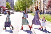 Pogledajte divnu modnu kampanju koju je Ljupka Gojić Mikić snimila s kćerima na zagrebačkoj Knežiji