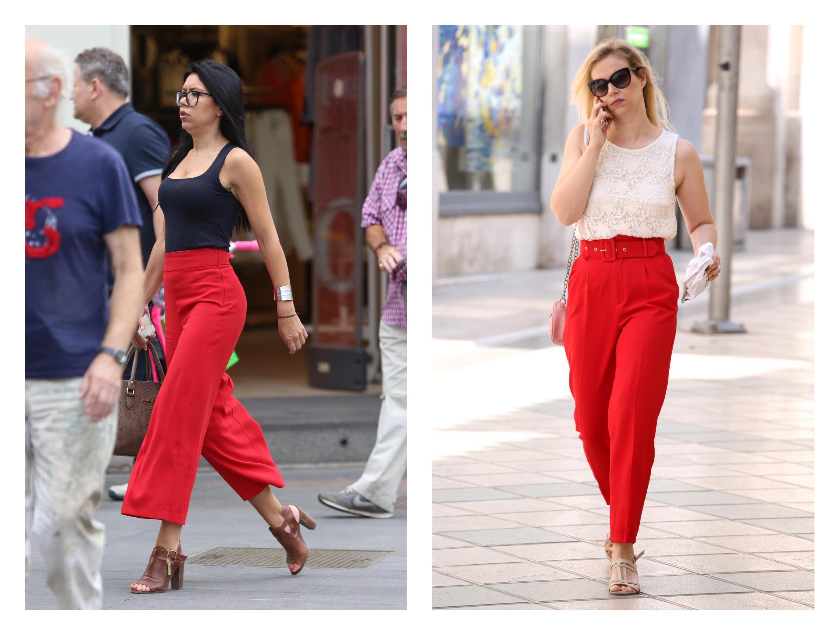 Tko bolje nosi hit hlače - zanosna brineta sa špice ili zgodna plavuša sa splitske rive?
