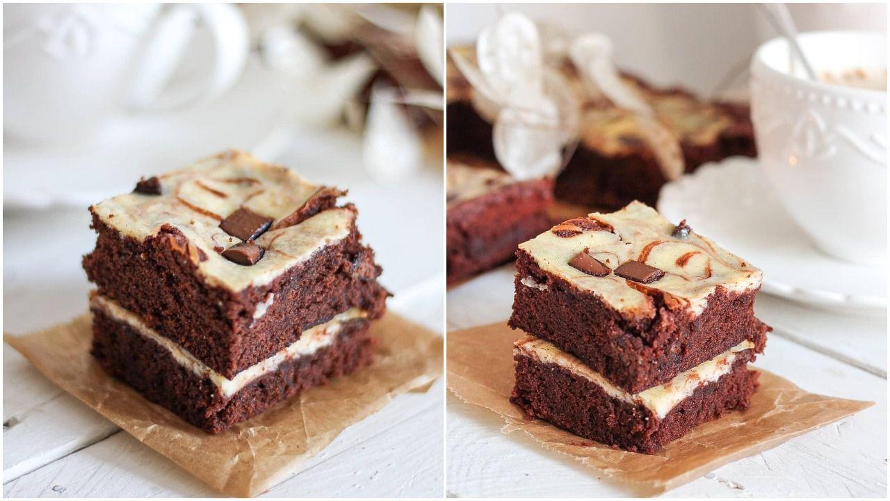 Savršen kolač za sve ljubitelje slatkog! Napravite preukusne browniese s kremom od sira i vanilije