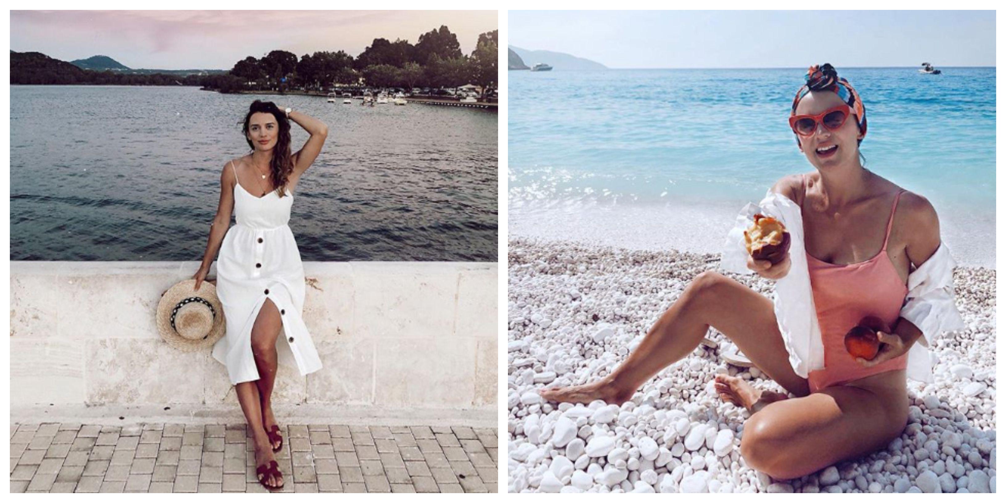 Naša lijepa blogerica neka vam bude modna inspiracija za odmor u kasno ljeto