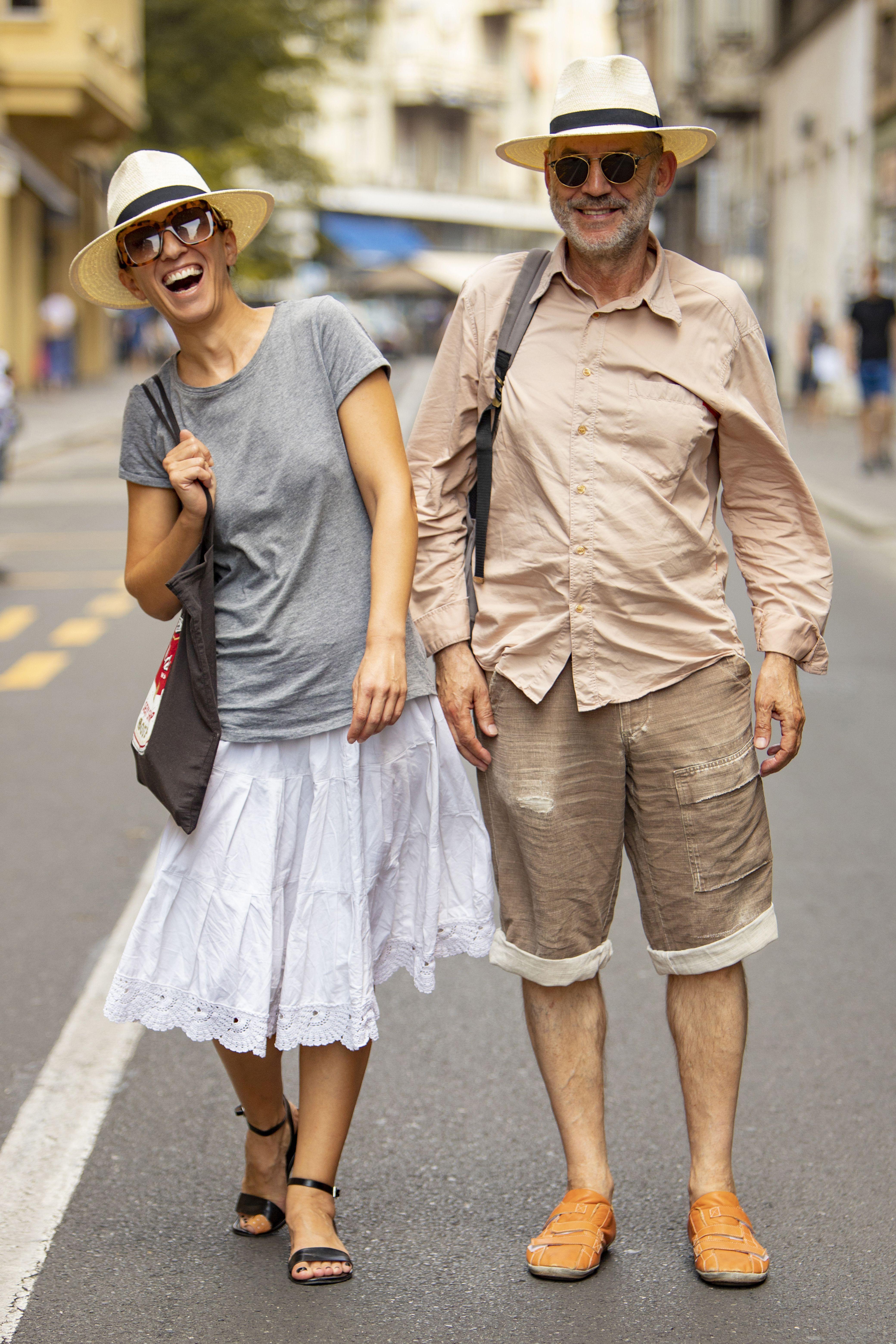 Najsimpatičniji dvojac ikada! 'Suknju sam sašila od stare bakine plahte'