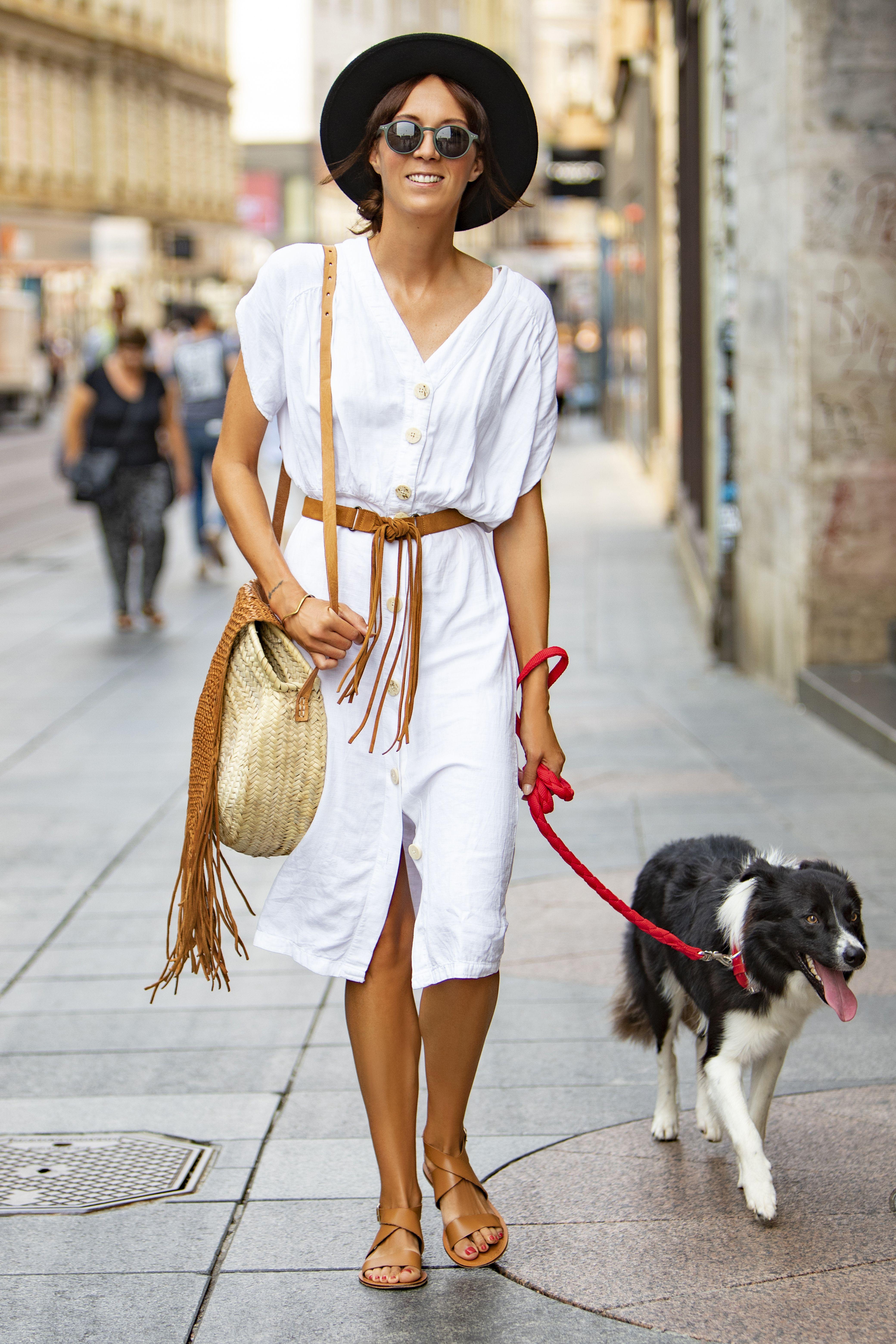 Stylish djevojka i njen psić: Ovaj dvojac nije mogao proći nezamijećeno