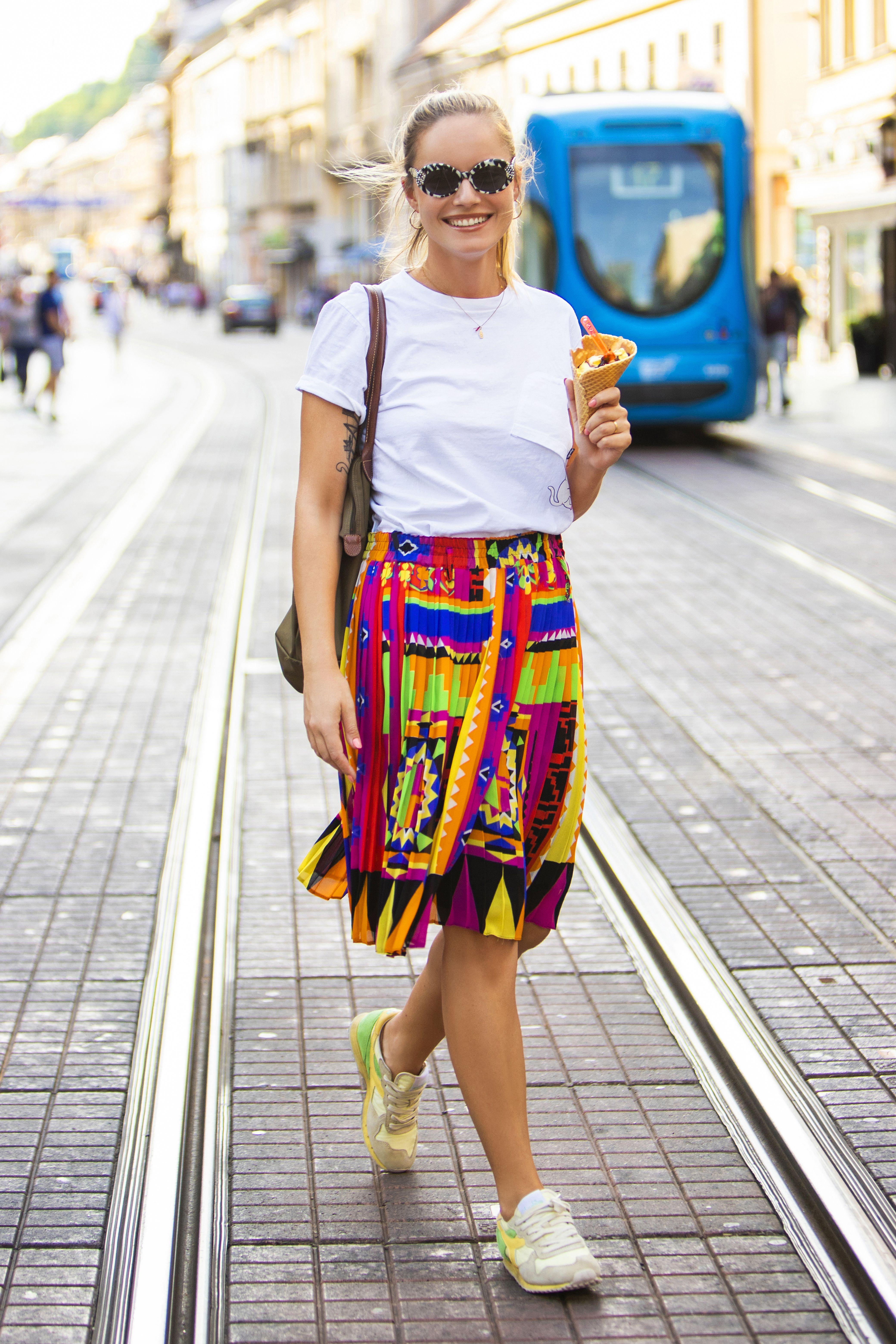 Nina Mia Čikeš: 'Dan mi je započeo kaosom, odlučila sam taj kaos odagnati šarenilom'