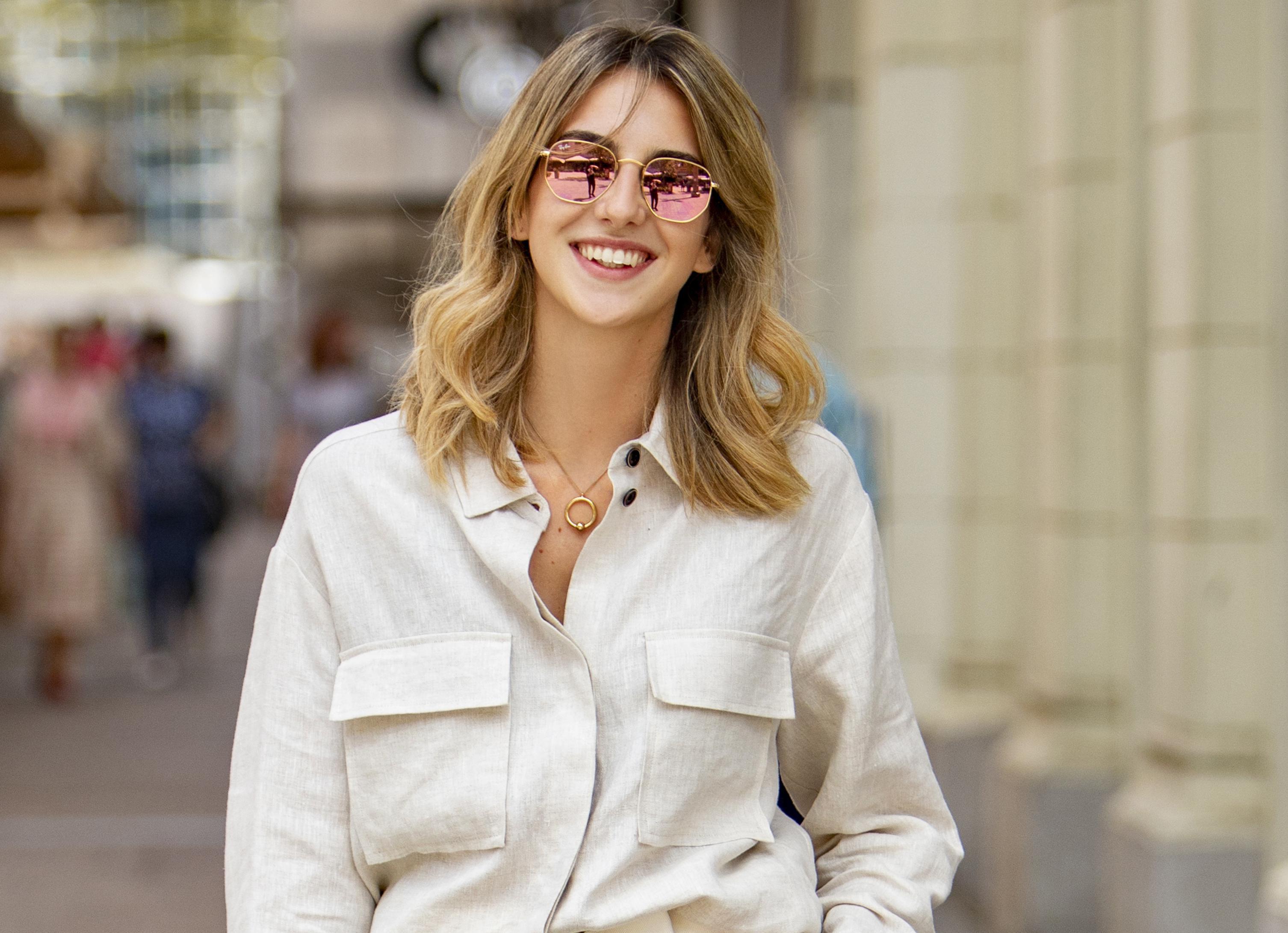 """Stylish studentica modnog dizajna: """"Ovaj outfit sam odabrala jer je ljeto, vruće, a i pristojna je za grad"""""""