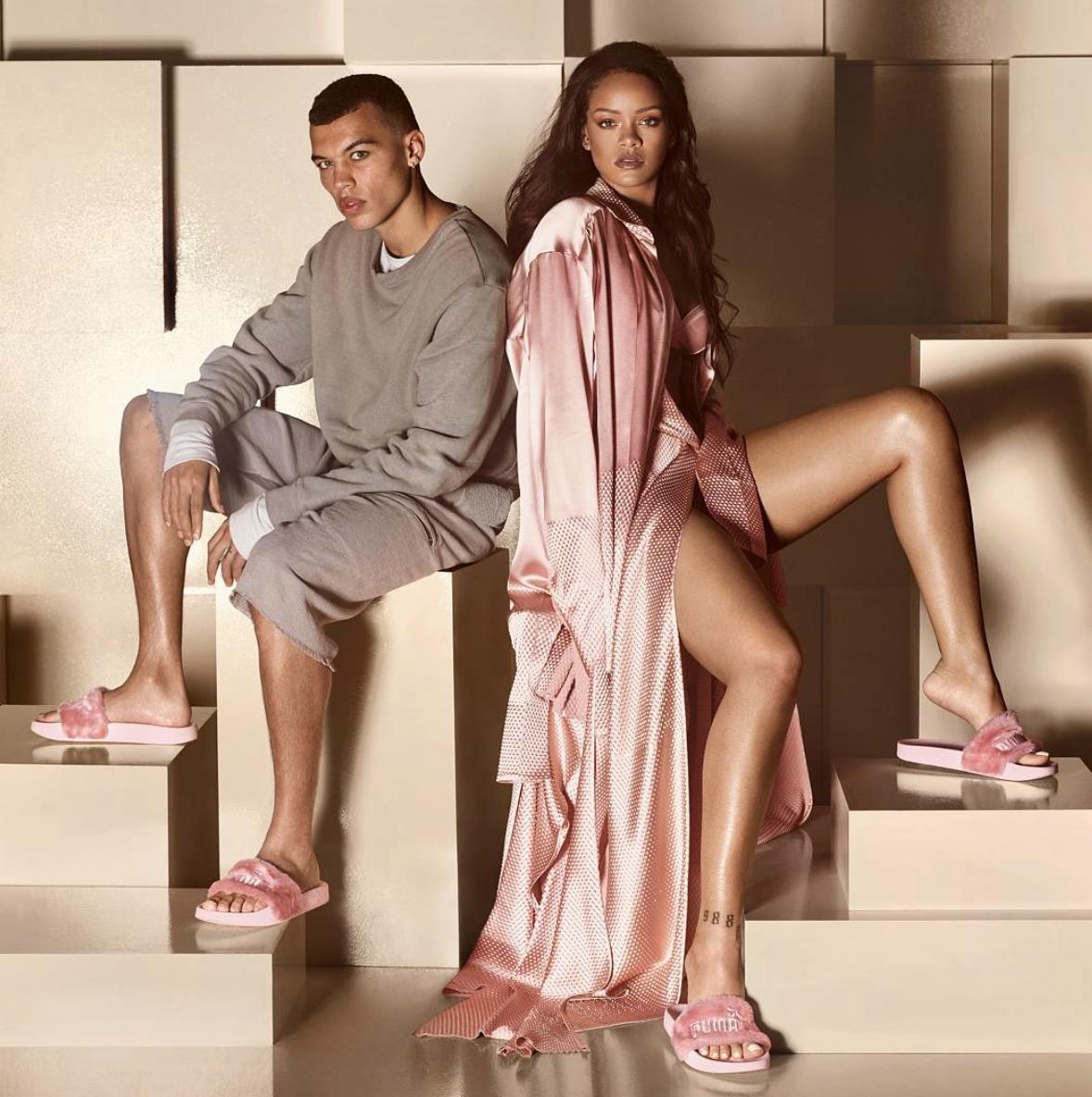 Krznene natikače koje potpisuje Rihanna