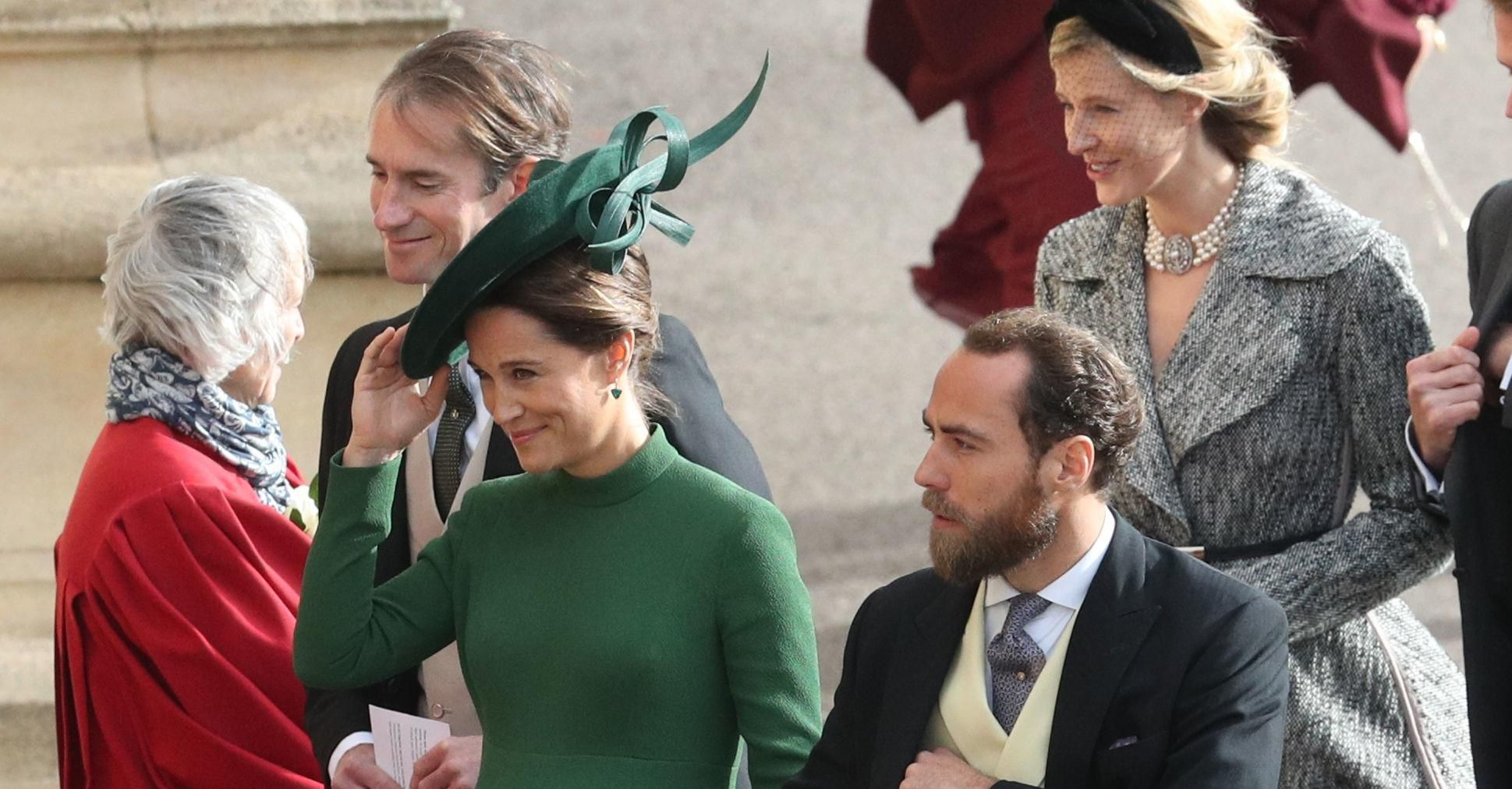 Kraljevsko vjenčanje broj dva: Pippa Middleton pokazala trudnički trbuščić u uskoj haljini