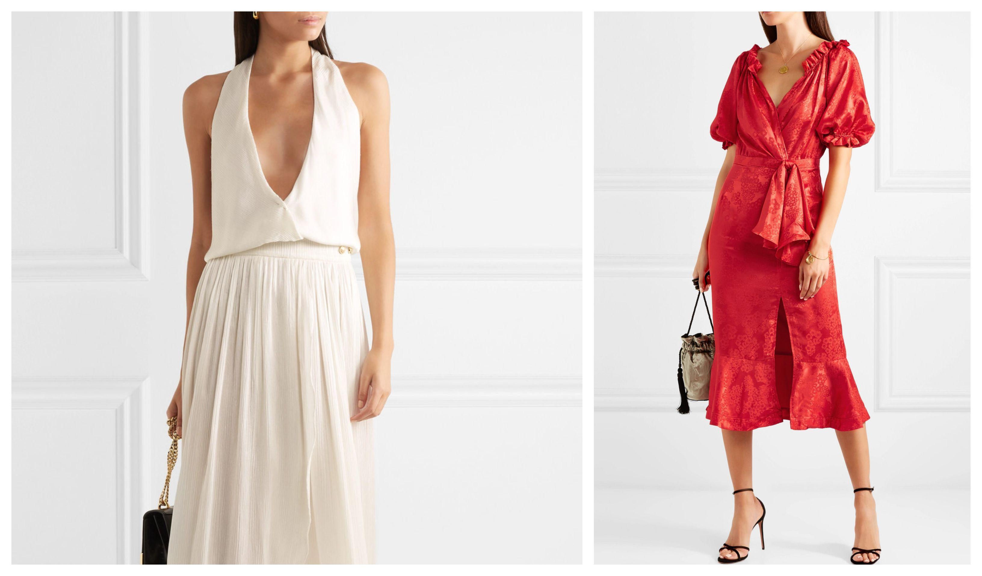 Bijele i crvene haljine, jer... Utakmica! Pogledajte najljepše trendi modele
