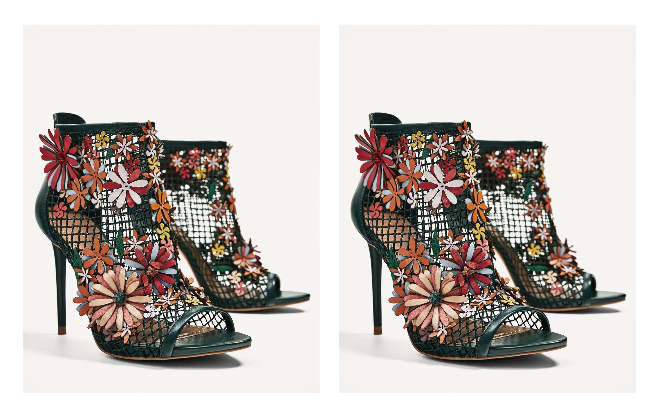 Na listi želja: mrežaste sandale sa cvijećem