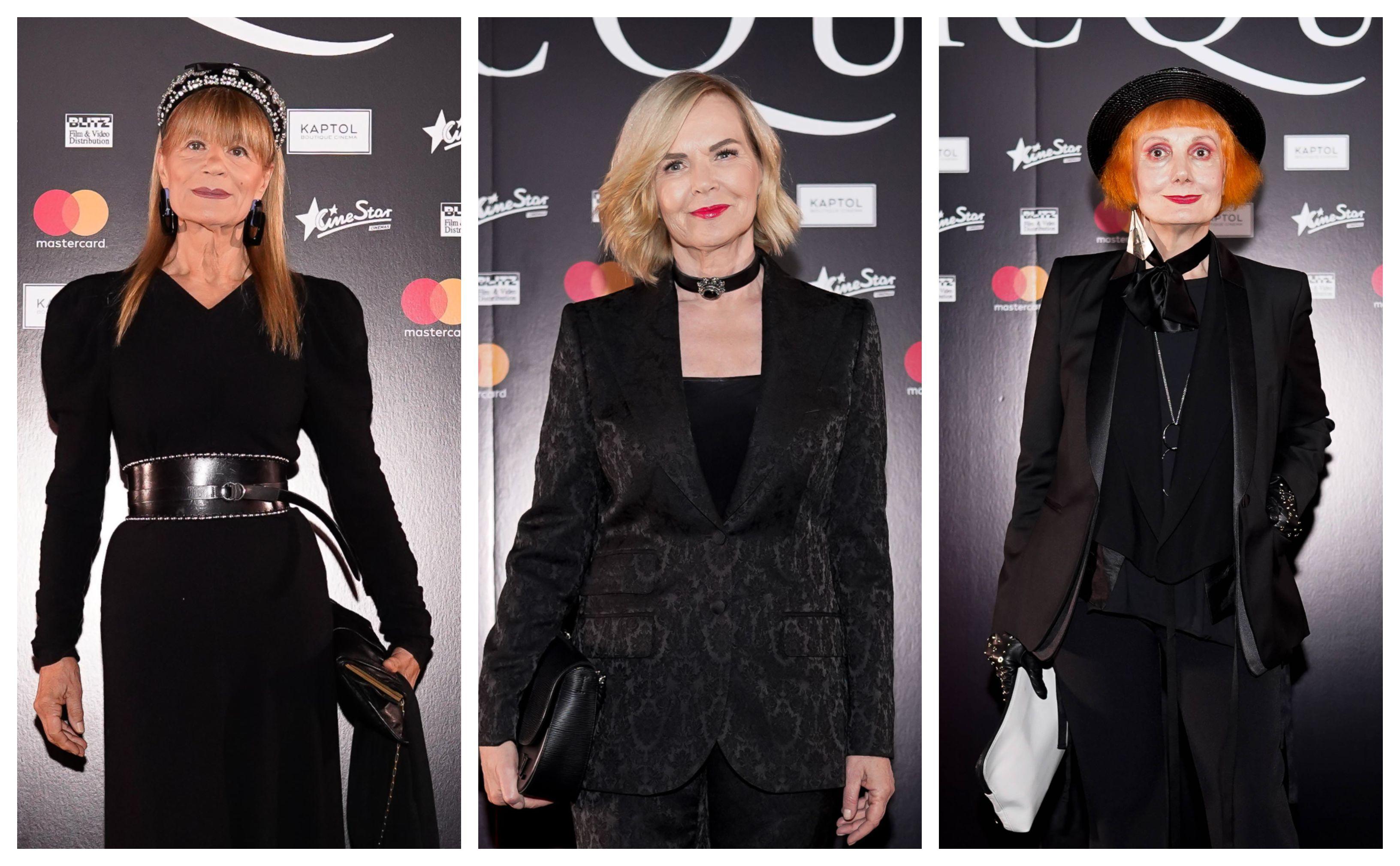 Dame u crnom: Đurđa Tedeschi, Jadranka Sloković i Josipa Lisac imaju bezvremenski stil