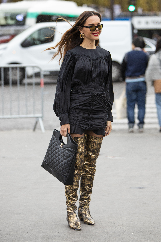 Seksi ili? Njezine su čizme jedan od hrabrijih odabira koji smo vidjeli u street styleu!