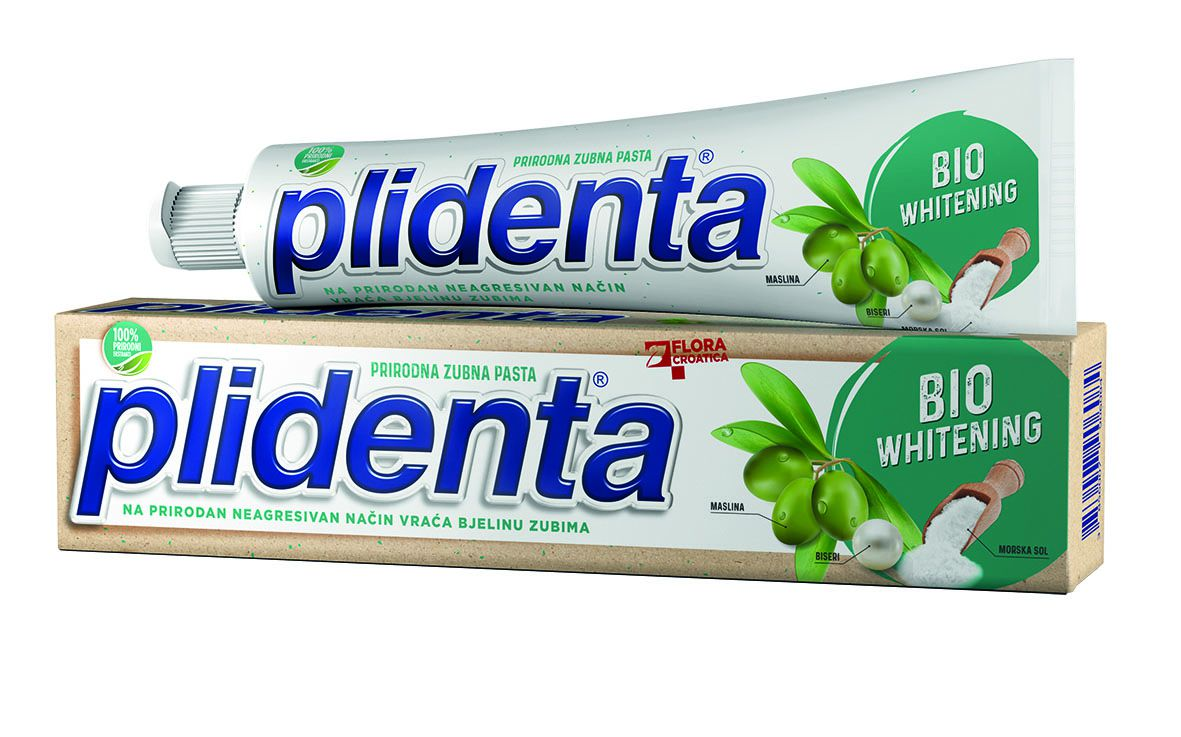 Plidenta Bio - Nove zubne paste sa 100% prirodnim ekstraktima