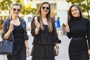 Divne mlade dame u crnom: Sladoled je pravo osvježenje i spas od korone
