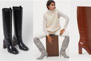 Već od tristotinjak kuna: 10 modela čizama do koljena iz H&M-a kojima je ove jeseni stvarno teško odoljeti
