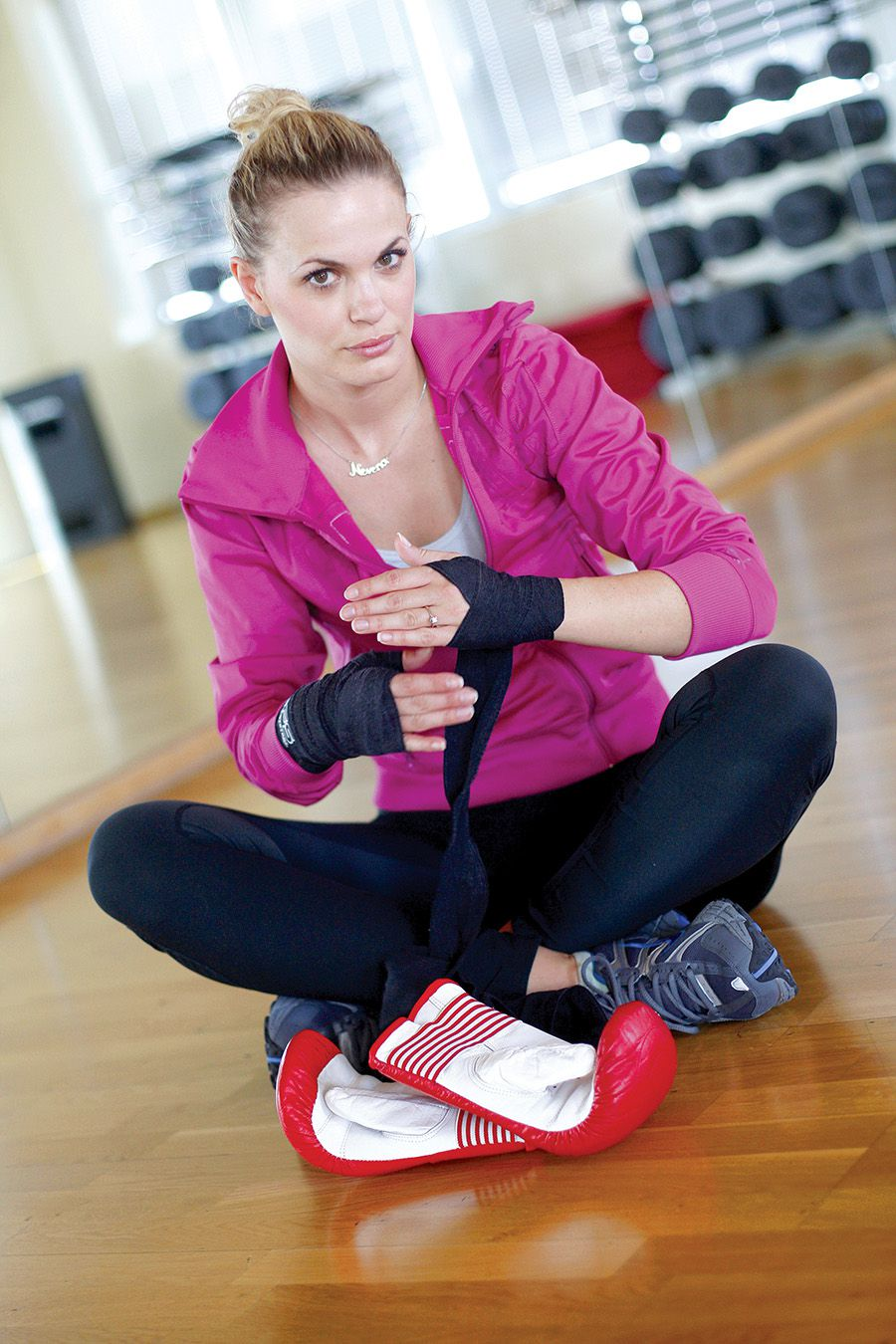 Fitness serviette Nevene Rendeli