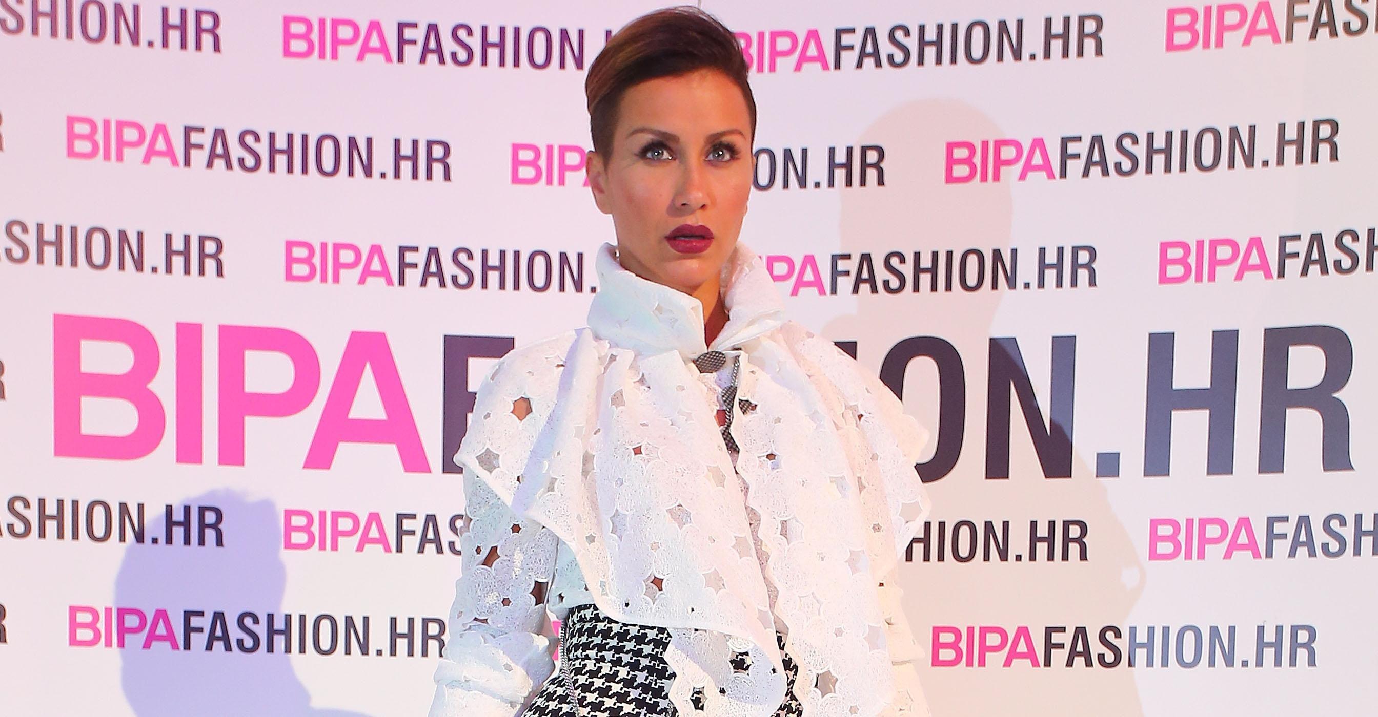Ana Gruica: pripijena suknja i vrtoglave štikle za zadnju večer modnog spektakla