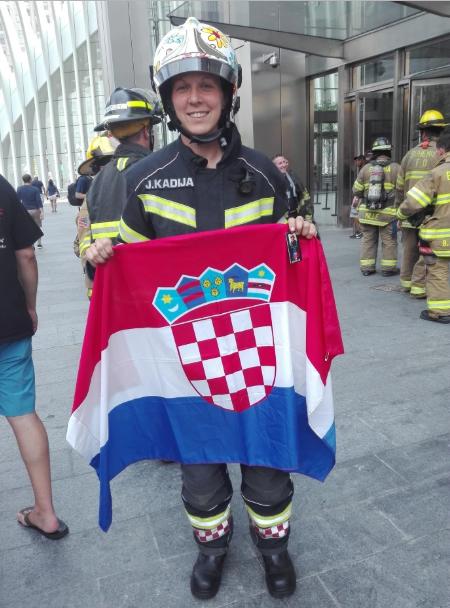 Prva zagrebačka vatrogaskinja: Na utrkama se u punoj opremi penjemo 80 katova!