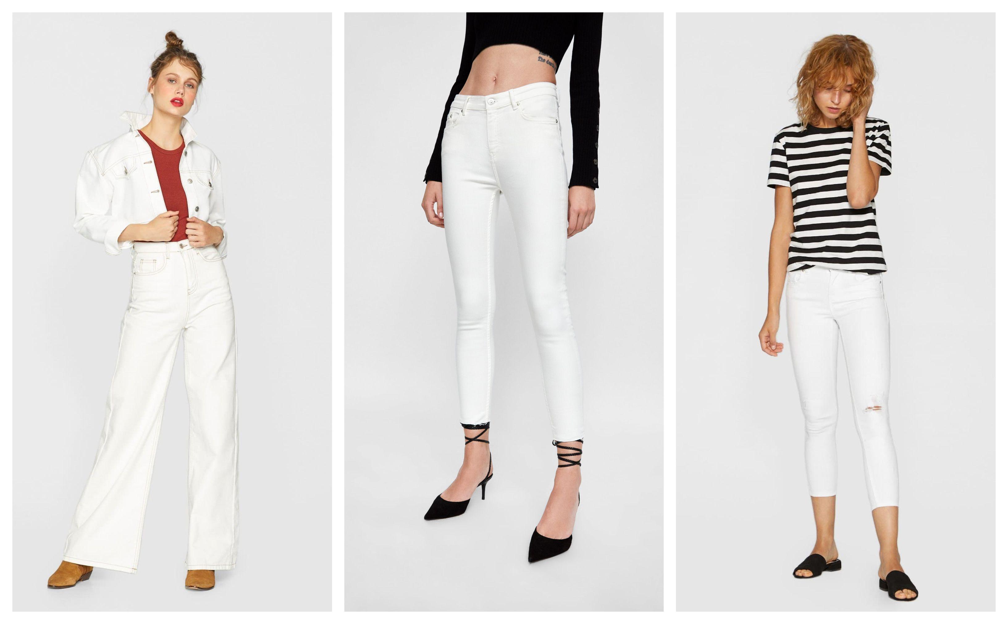 Dakle, svi nose samo - bijelo! Odabrali smo najljepše bijele traperice