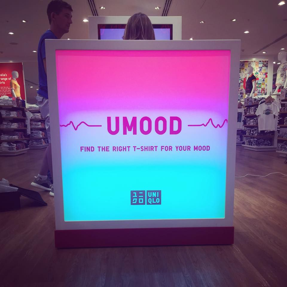 UMood-uređaj koji zna koju majicu odabrati