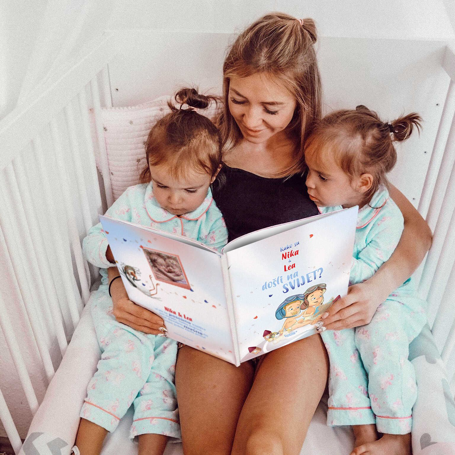 Personalizirane knjige hit su za najmlađe: U 2020. dobilo ju je svako 5. novorođenče u Hrvatskoj