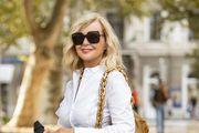 Najpoželjnija torba i efektna košulja izvrsno pristaju Jadranki Sloković, jednoj od najbolje odjevenih Hrvatica