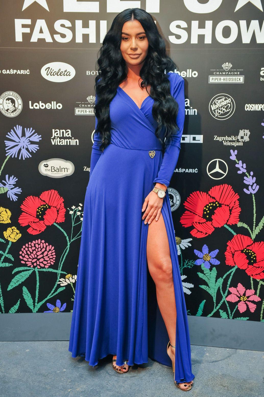 Hrvatska Kim Kardashian ili Ivana Mišerić - koja dama bolje nosi dizajnersku haljinu?