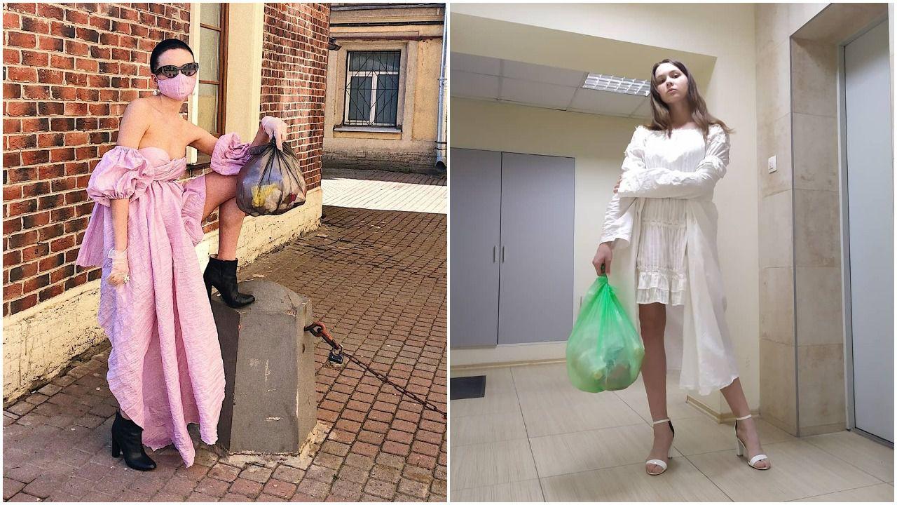 Novi izazov na društvenim mrežama: Pogledajte kako izgleda kad se cure srede jer - idu baciti smeće