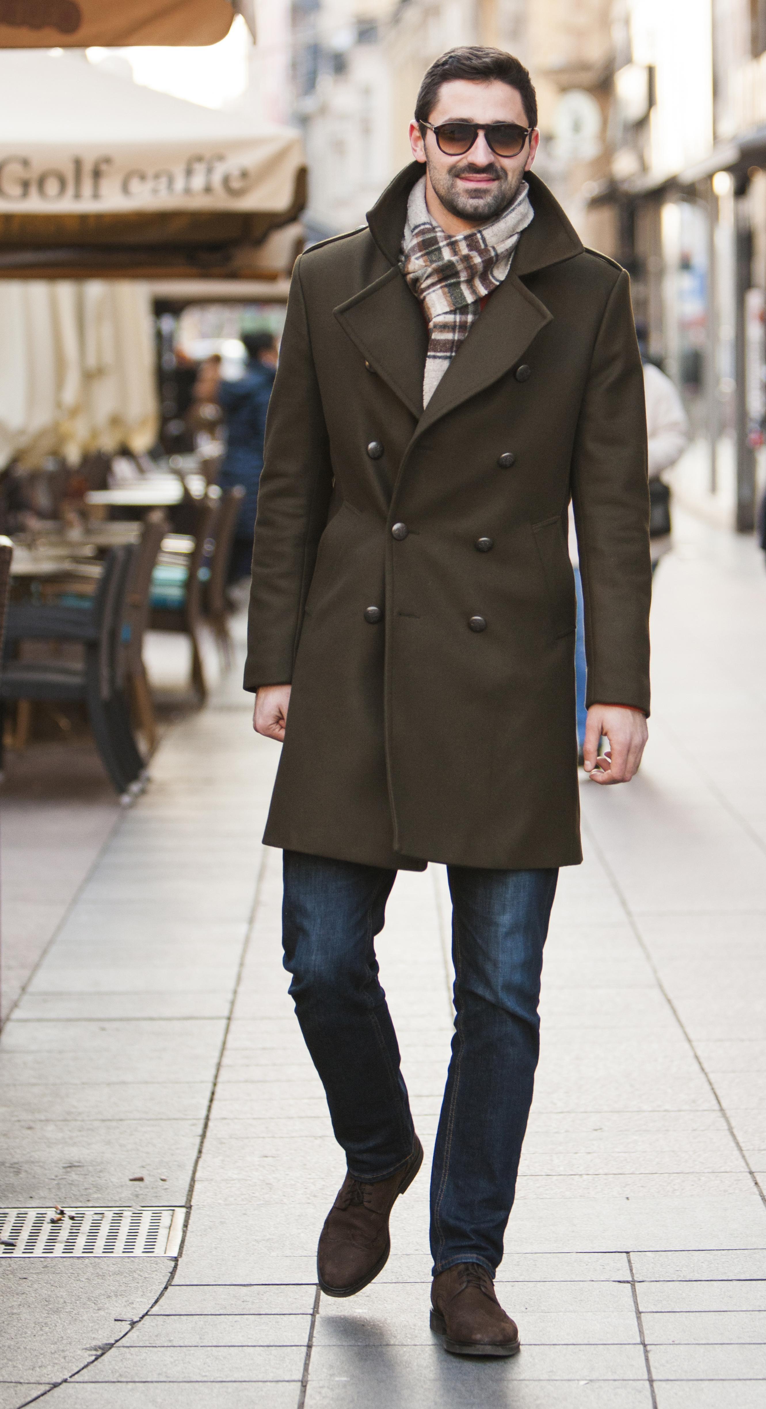 Ono kad muškarac jednostavno zna... Kombinacija dostojna ulica modnih metropola