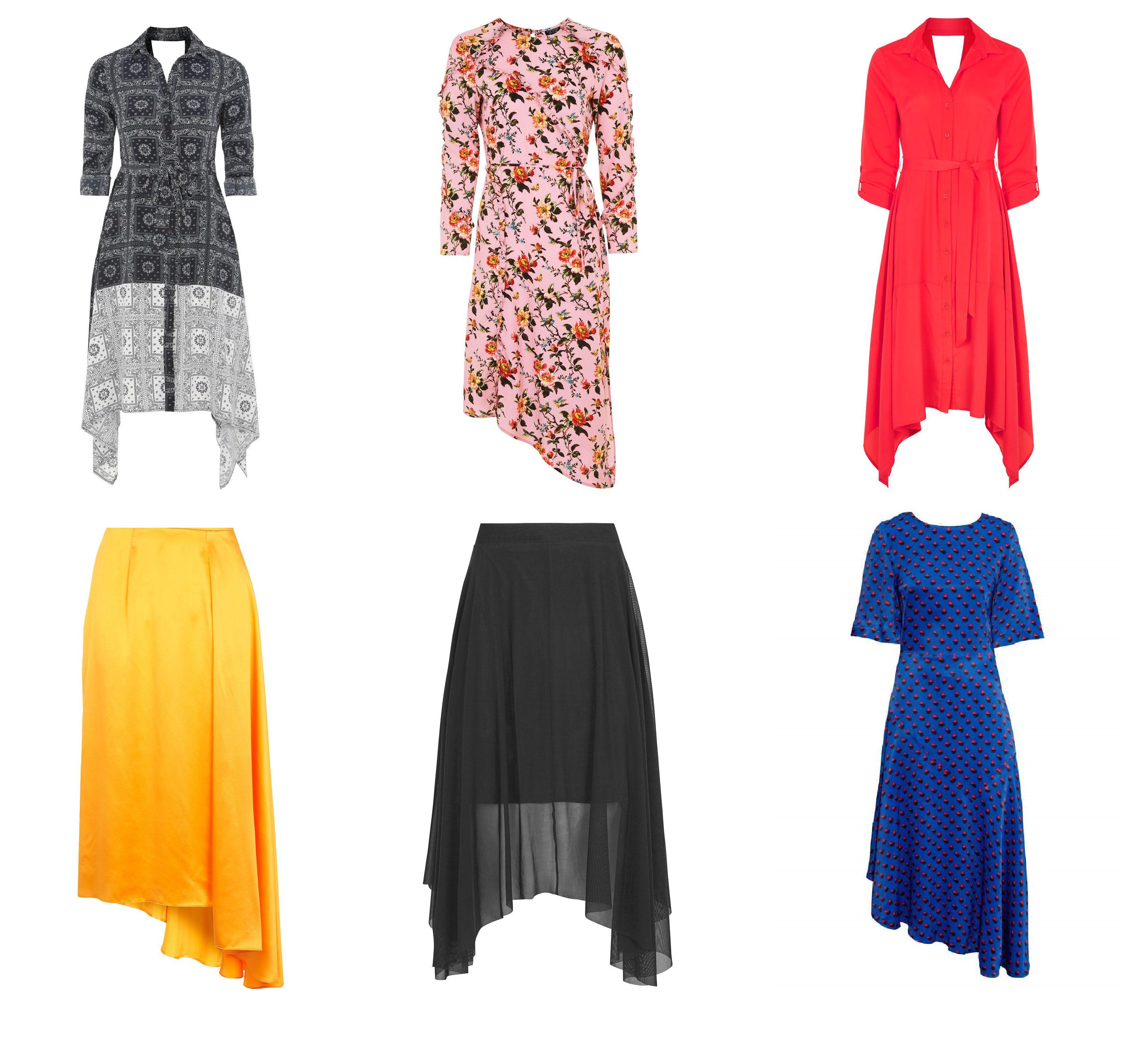 Vraćaju li se asimetrične haljine u modu?