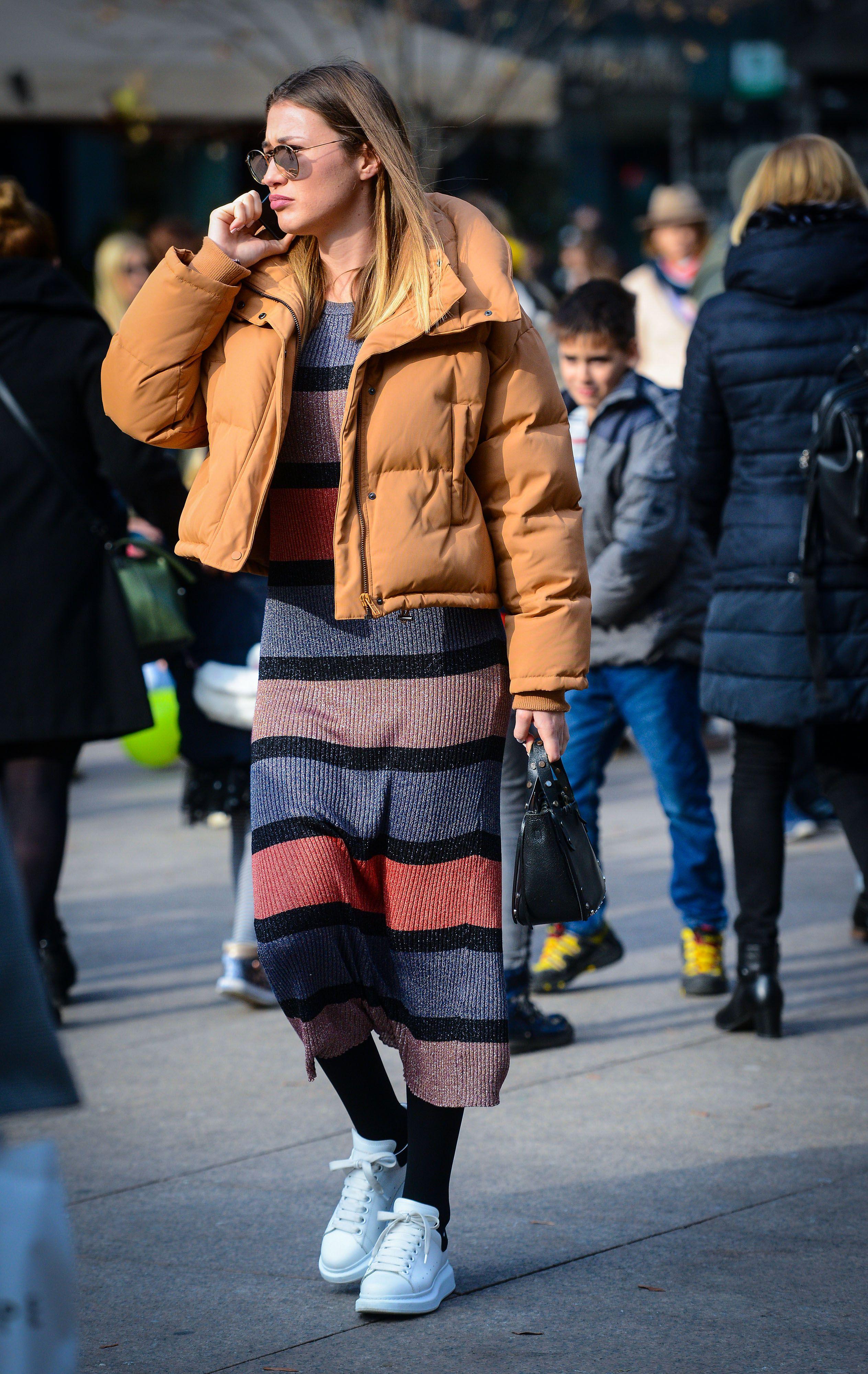 Zgodna djevojka iz Zagreba nosi sve najveće trendove ove sezone