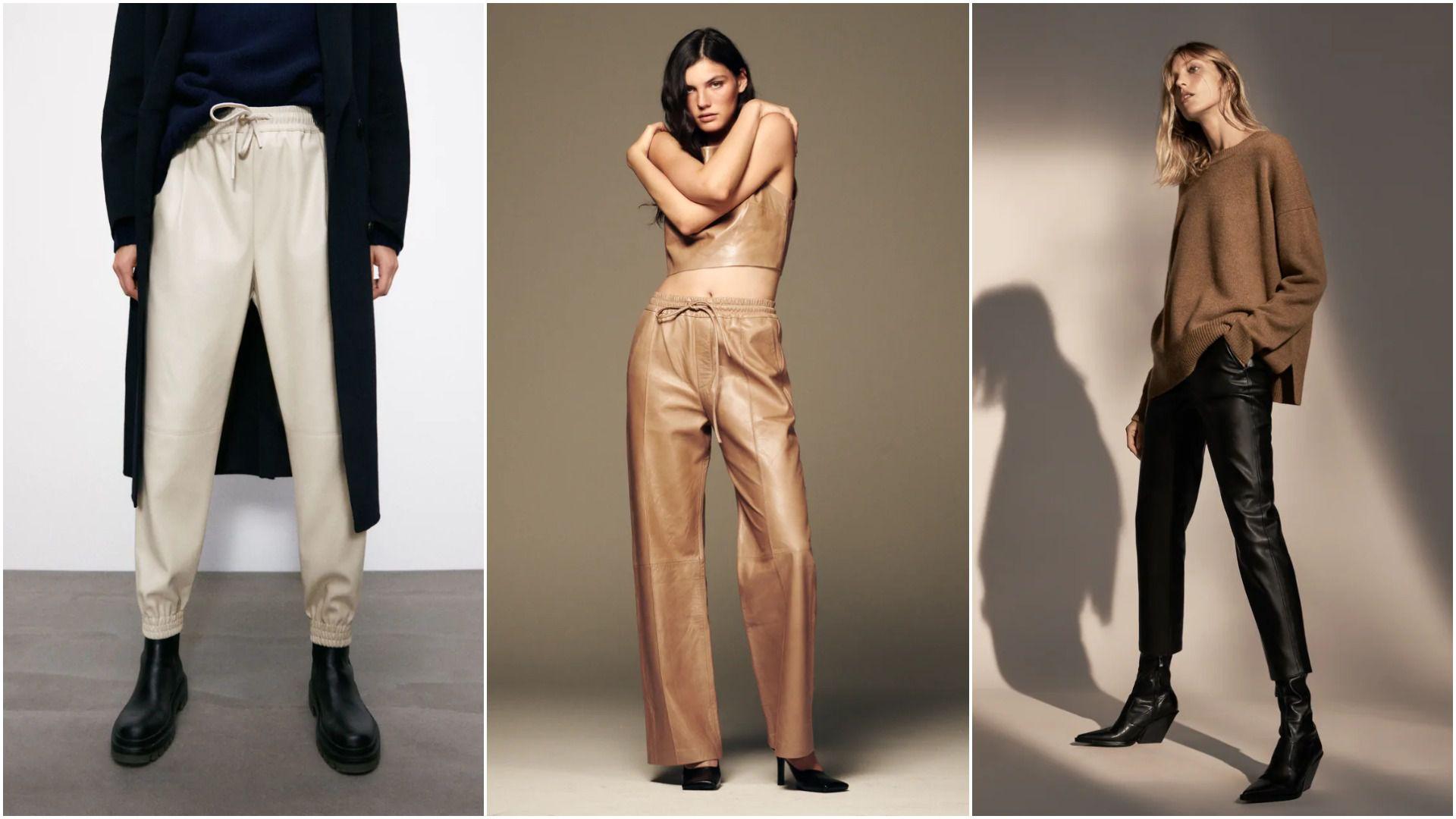 Najbolji modeli od 199 kn: Zara ima genijalnu ponudu kožnih hlača koje ćemo nositi ove sezone