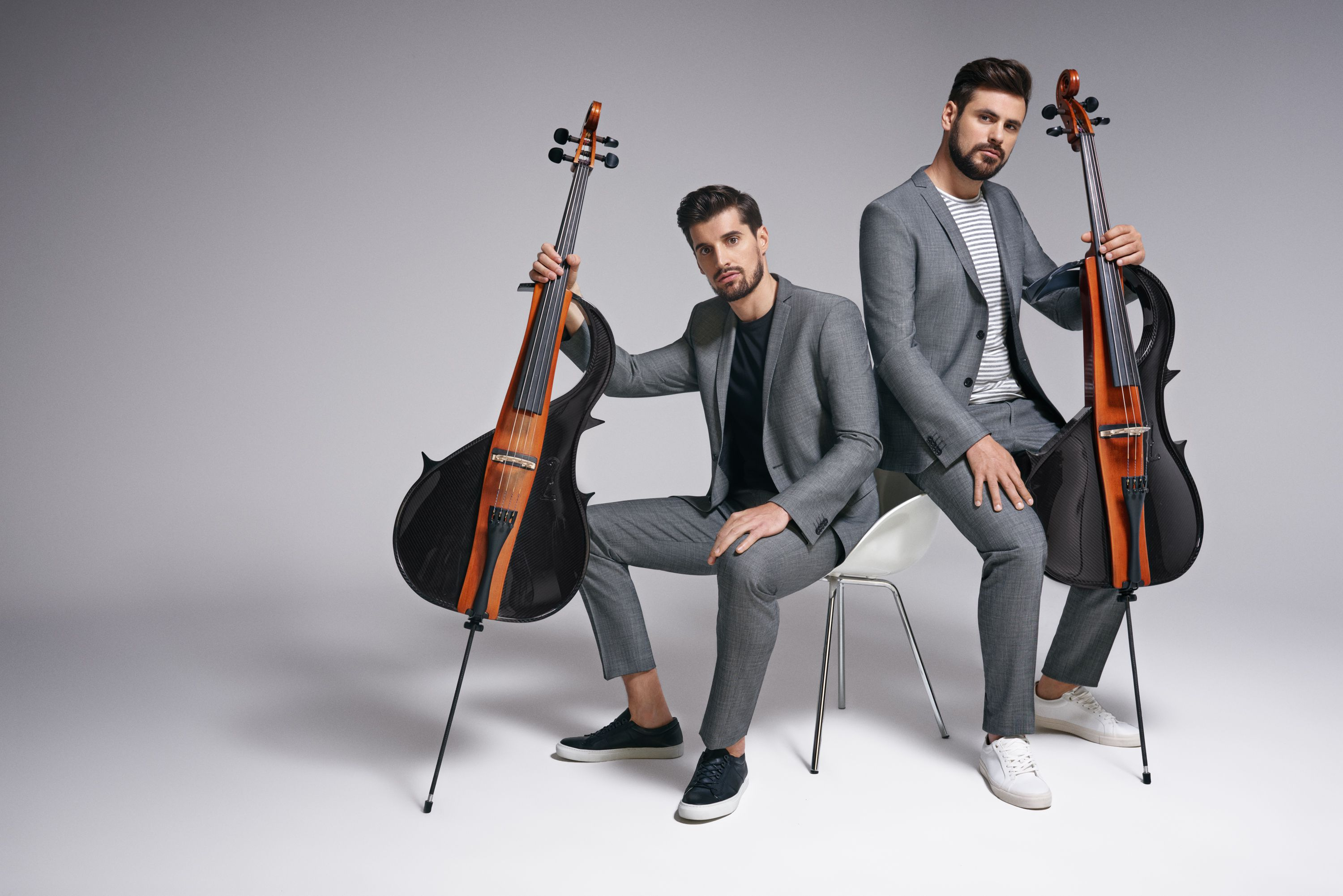 2CELLOS zaštitna lica s.Oliver Black Label kampanje