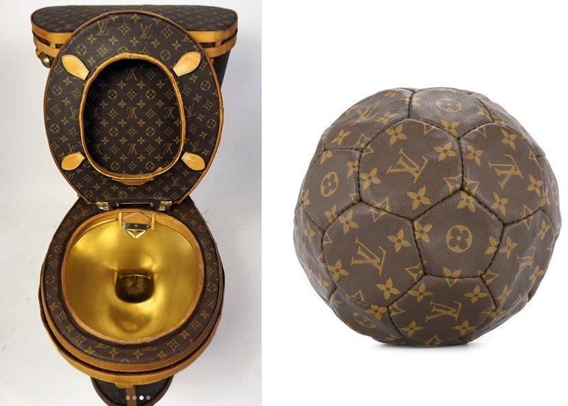 Ono kad se s trendovima pretjera: Bizarni komadi prekriveni Louis Vuitton monogramom