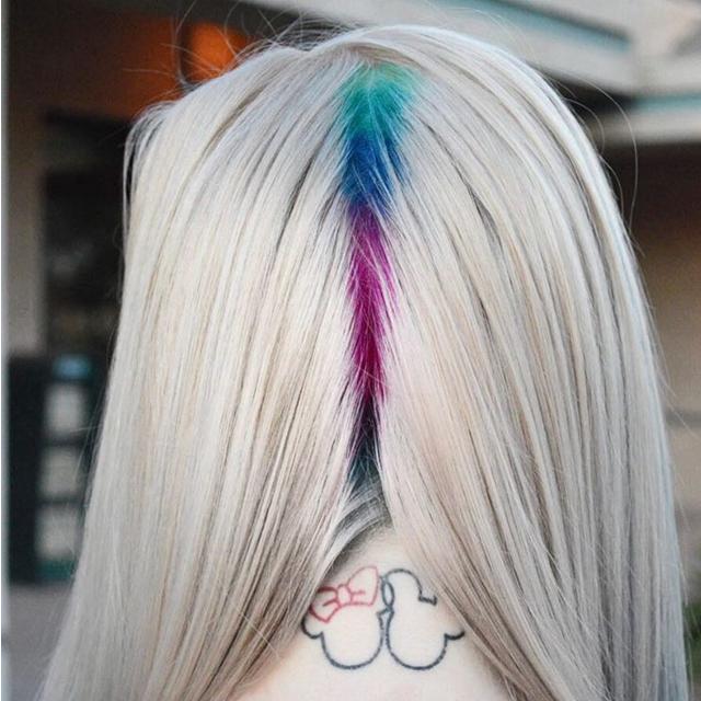 Korijen kose u duginim bojama - da ili ne?