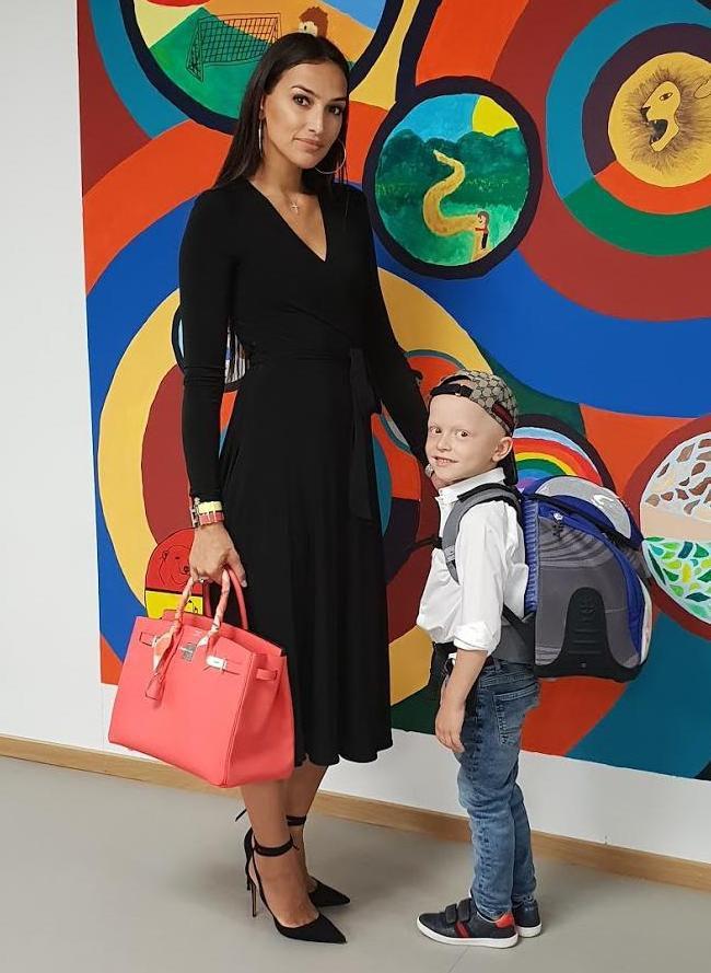 """Manekenka i influencerica o sinu Davidu: """"Bilo ga je strah da ne zakasni u školu pa se digao u 4 ujutro! """""""