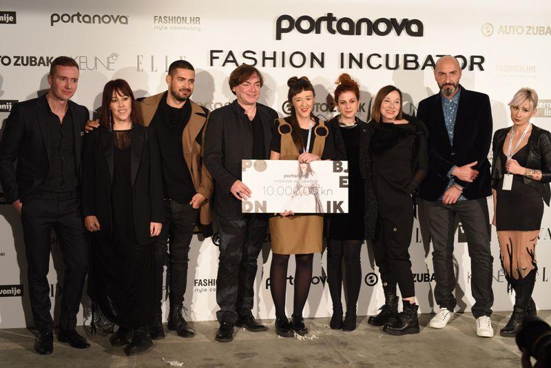 Marijana Cigić pobjednica 17. Portanova Fashion Incubatora