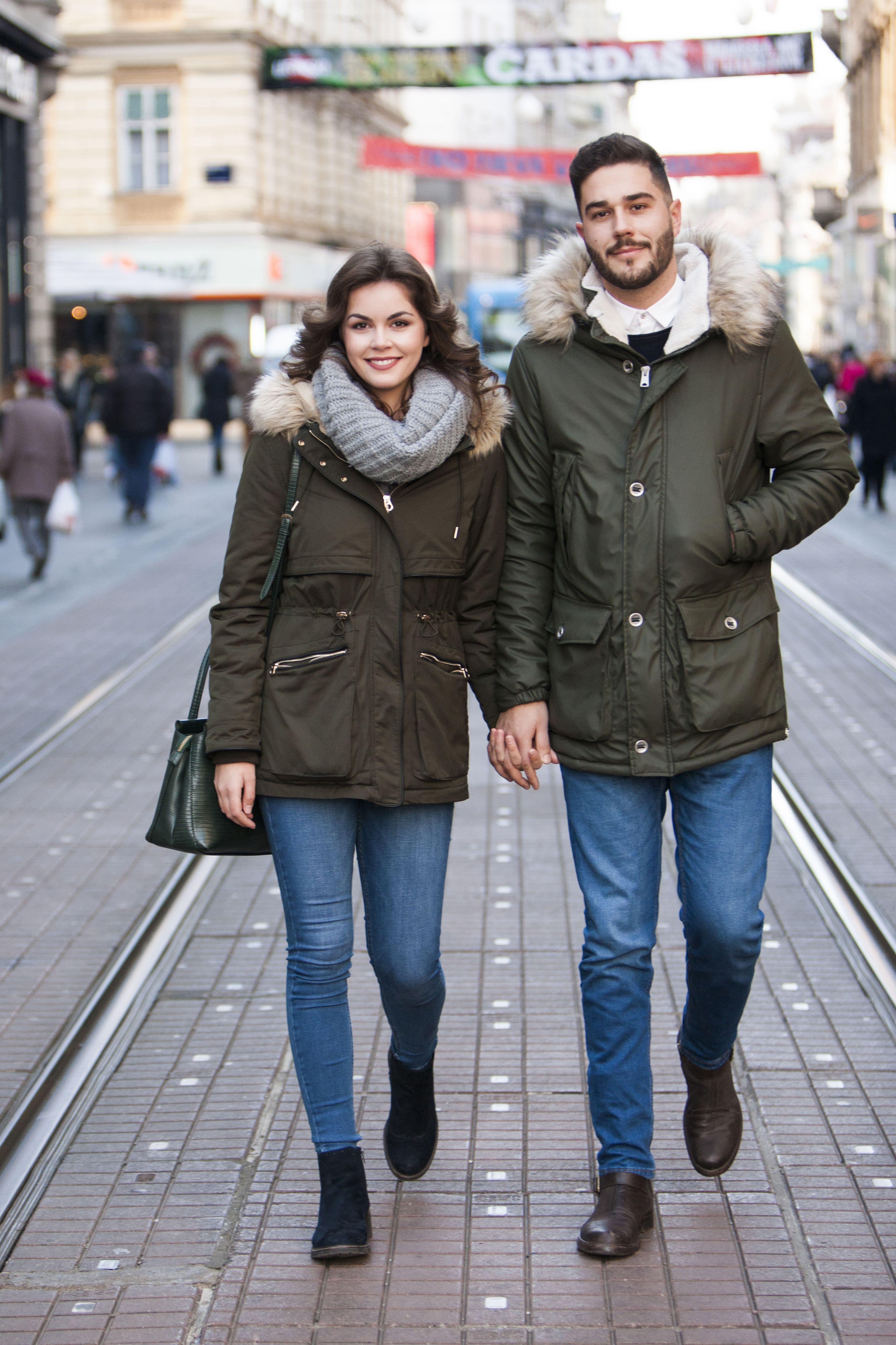 """Zgodan i stylish par: """"Namjerno smo kupili slične jakne"""""""