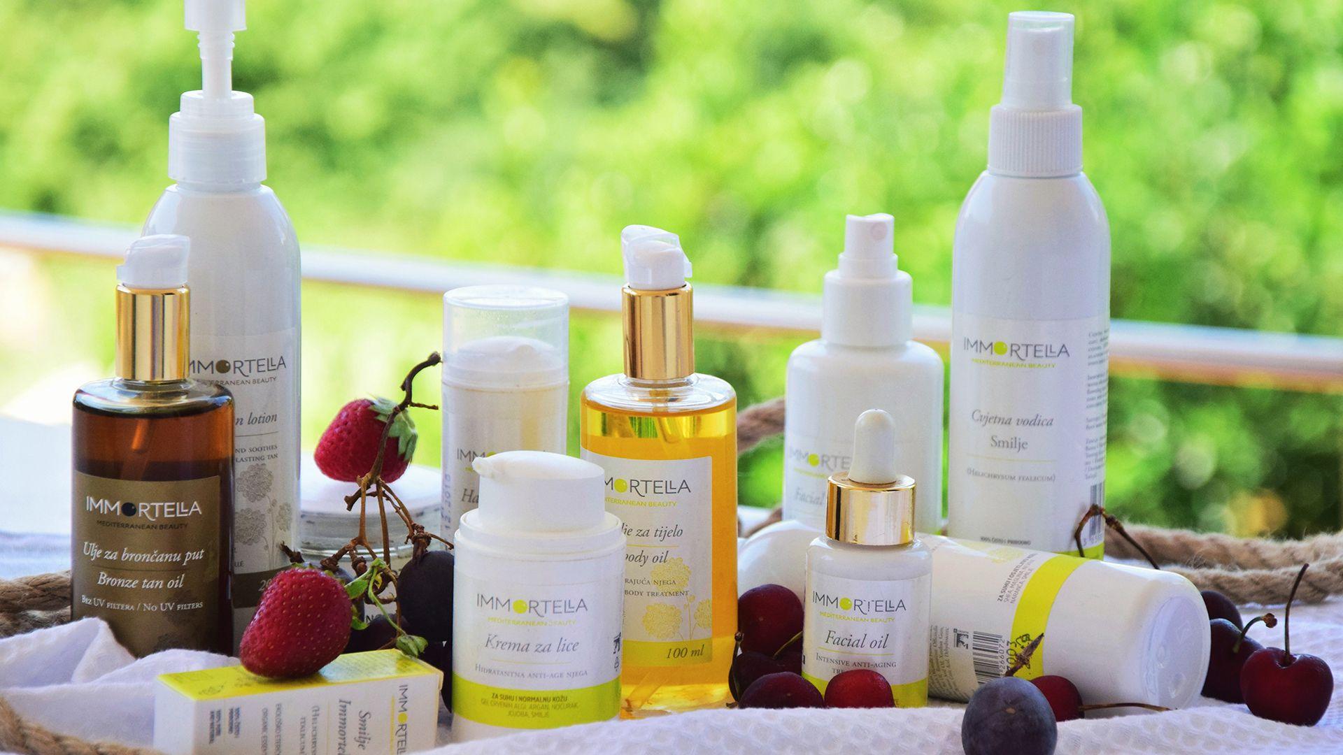 Upoznajte novi brend svježe prirodne kozmetike inspiriran Mediteranom IMMORTELLA - Mediterranean beauty!