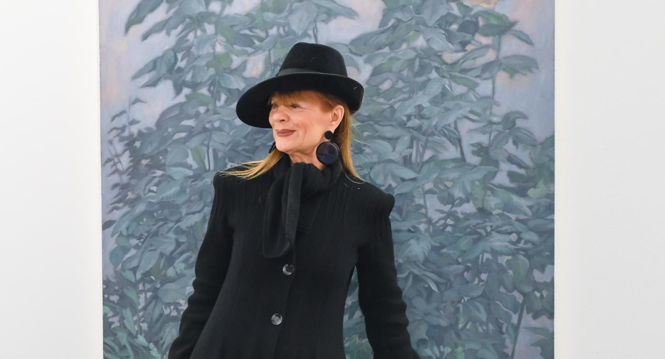 Crno od glave do pete: Đurđa Tedeschi još jednom je dokazala zašto je prava stilska ikona