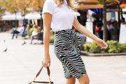 Kako nositi čizme u kasno ljeto? Ova zgodna influencerica ima dobru modnu formulu!