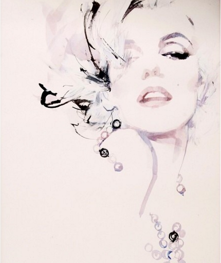Modni ilustrator David Downton