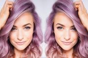 Kosa u duginim bojama