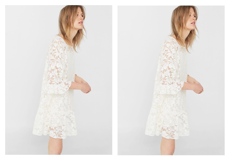 Čipkaste haljine polako postaju modni klasik...