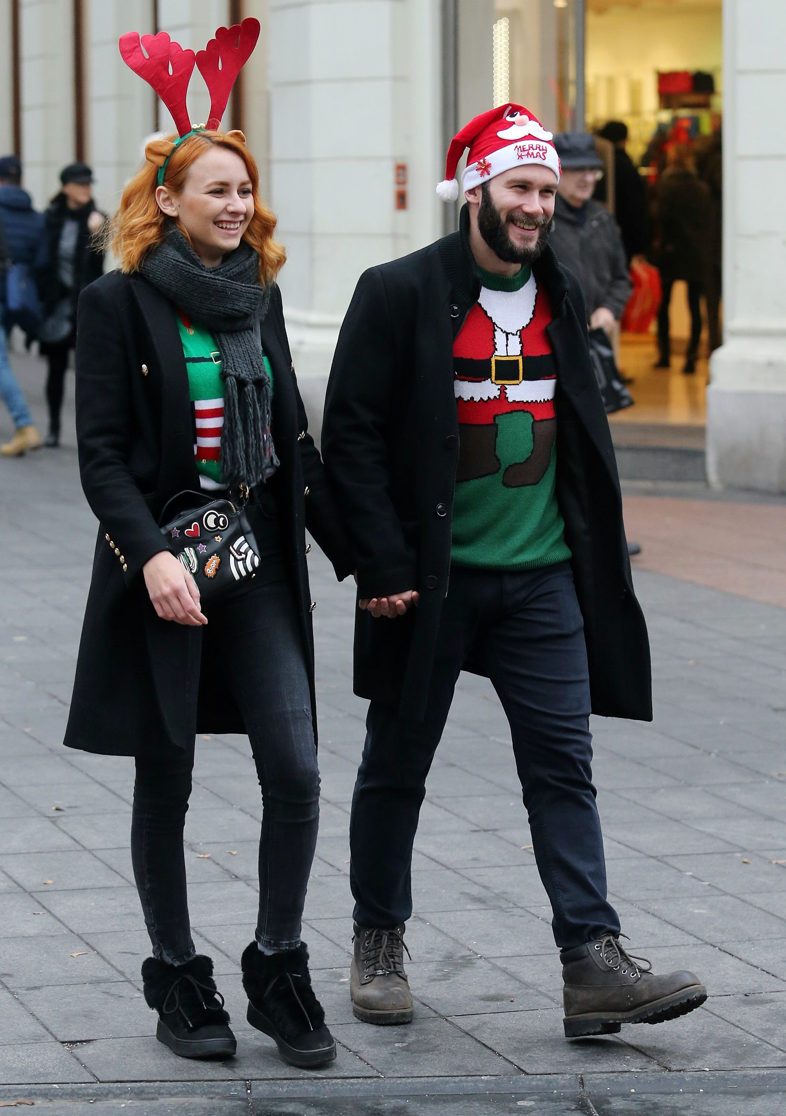 Ovaj par nas je oduševio, a pogledajte što su još Zagrepčani nosili na špici za Badnjak