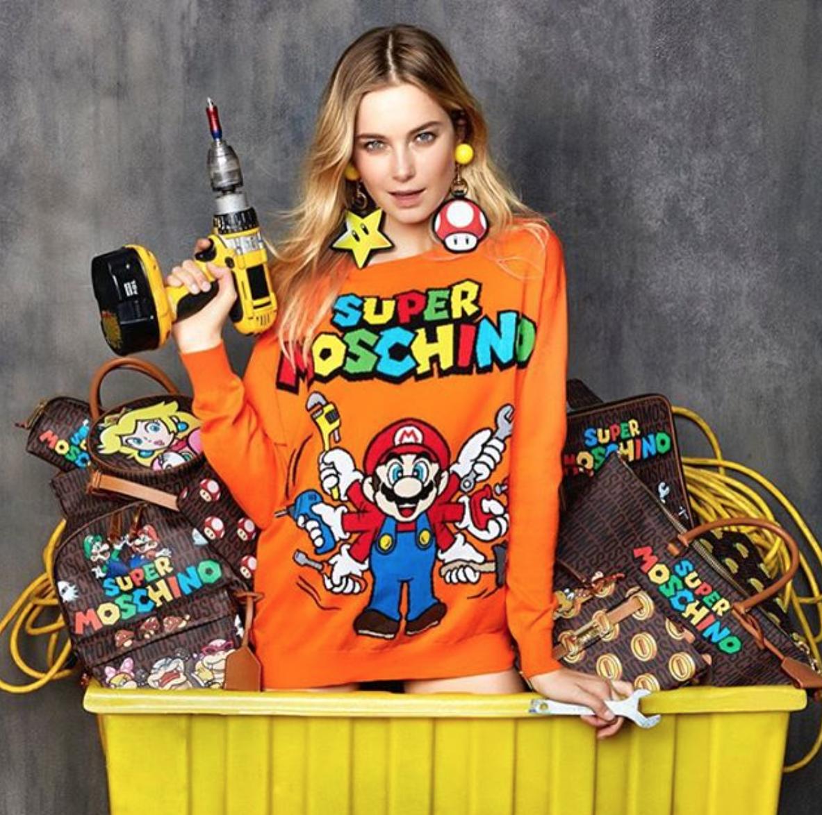 Super Moschino Super Mario kolekcija