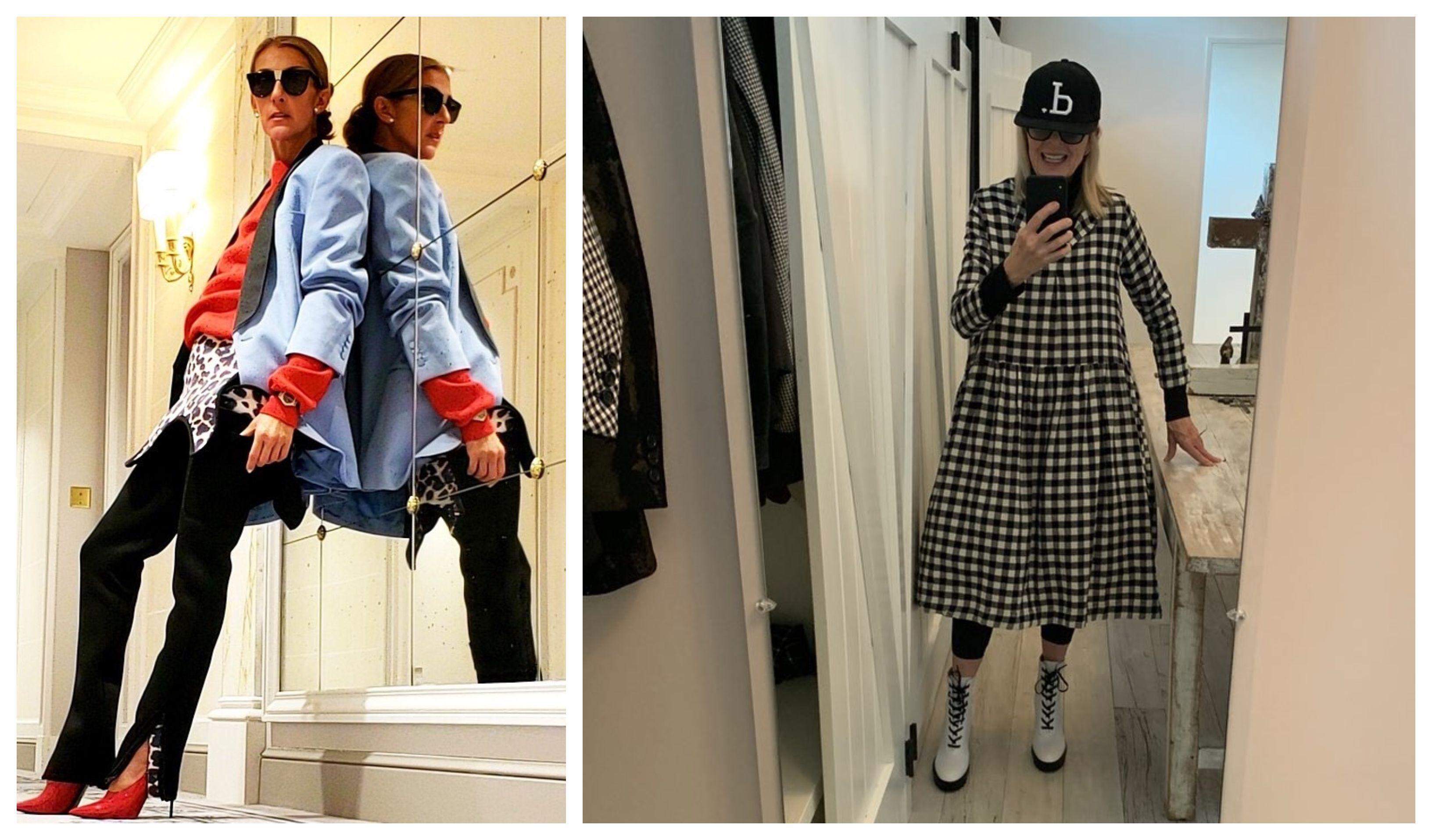 Celine Dion i Diane Keaton bolje su modne blogerice od pola Instagrama!