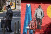 Fotografirao gospodina na ulici, a zatim shvatio da je to osoba s novog murala na Opatovini