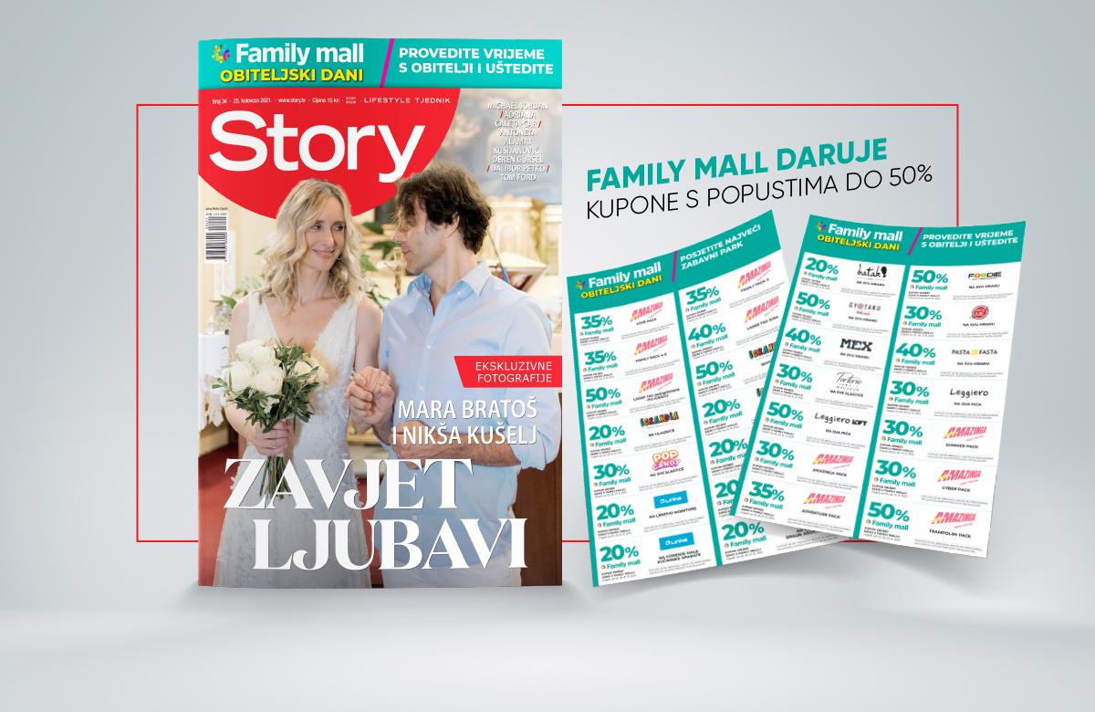 VRIJEME JE ZA OBITELJ! Uz Storyjeve kupone uživajte u popustima u Family mallu