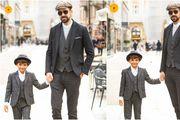 Najcool dečki sa zagrebačke špice: 'Volim stil iz serije Peaky Blinders, a sin uvijek želi biti odjeven poput tate'