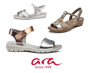 Četiri trendi modela ara Shoes sandala za različite ljetne kombinacije